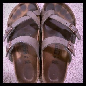 well worn well loved authentic Birkenstock sandals